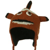 Costume - Clown Fish Punk Monkey Wool Ski Beanie