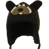 Costume - Beaver Toddler Animal Wool Ski Hat