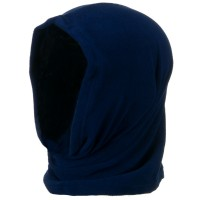 Face Mask - Navy Motley Tube Fleece Spandex