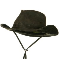Outdoor - Brown UPF 50+ Weathered Outback Hat