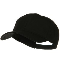 Ball Cap - Black Big Size High Profile Cap