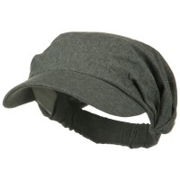 Visor - Grey Cotton Elastic B, Visor