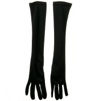 Glove - Black 18 Inch Adult Nylon Glove