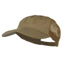 Ball Cap - Khaki Khaki Big Size Low Profile Cotton Cap