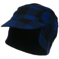 Trooper - Royal Plaid Fleece Checker Trooper