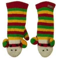 Glove - Rasta Monkey Adult Animal Wool Mitten
