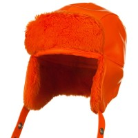 Trooper - Orange Vinyl Big Size Trooper Hats