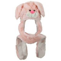 Costume - Rabbit SW Long Flap Mitten Animal Hat