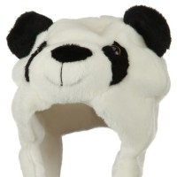 Costume - Panda Polyester SW Animal Hat