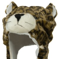 Costume - Leopard Polyester SW Animal Hat