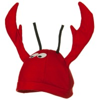 Costume - Felt Lobster VelvetLobster Crab Fish Novelty Hat