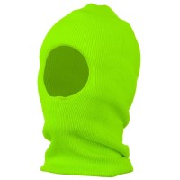 Face Mask - Green One Hole Thinsulate Face Mask
