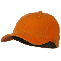 Ball Cap - Orange Flexfit Garment Cotton Cap