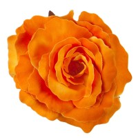 Pin , Badge - Orange Rose King Size Pin , Clip
