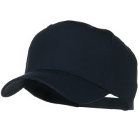 Ball Cap - Navy Solid Cotton Twill Pro Style Cap