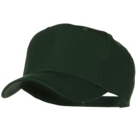 Ball Cap - Green Solid Cotton Twill Pro Style Cap