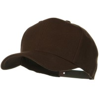 Ball Cap - Brown Wool Blend Prostyle Snapback Cap