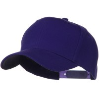 Ball Cap - Purple Wool Blend Prostyle Snapback Cap