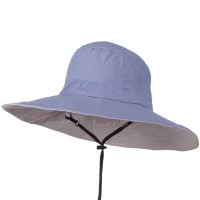Outdoor - Purple UPF 50+ Wide Brim Talson Bucket Hat