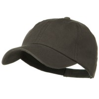 Ball Cap - Charcoal Grey Deluxe Garment Cotton Cap