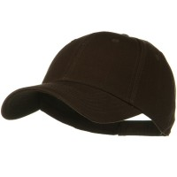 Ball Cap - Dark Brown Superior Cotton Low Profile Cap