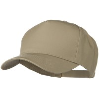 Ball Cap - Khaki Scrunchie Cap for Woman