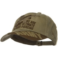 Embroidered Cap - Piercing US Army Unit Pigment Cap