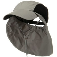 Outdoor - Grey UV 50+ Talson Side Mesh Flap Cap
