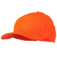 Ball Cap - Orange Fluorescent Hunting Camouflage Cap
