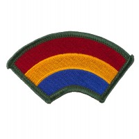 Patch - Rainbow 23rd - 196th Infantry Patches