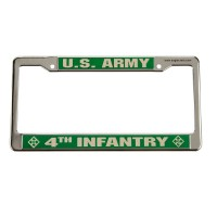 Plate, Frame - 4th Army 3D License Plate Frame