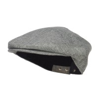 Ivy - Grey Men's Snap Bill Poly Ivy Cap