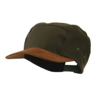 Ball Cap - Olive Adjustable 4 Panel Baseball Cap