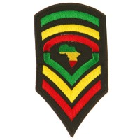 Patch - Army Africa Assorted Rasta Patch