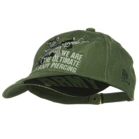 Embroidered Cap - Piercing 3rd Infantry Pigment Dyed Cap