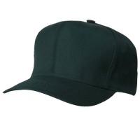 Pro Style Twill Brushed Caps-6 Panel: Solid Adjustable Cap