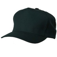 Pro Style Twill Brushed Cap - 5 Panel: Solid Adjustable Cap