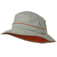 Bucket - Grey Big Size Adjustable Talson Bucket Hat