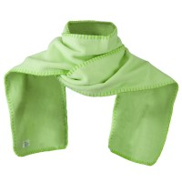 Scarf, Shawl - Mint Unisex Blanket Stitch Fleece Scarf