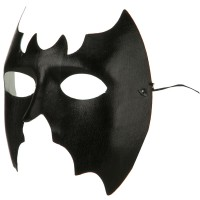 Face Mask - Black Bat Mask
