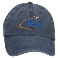 Embroidered Cap - Navy Space Cadet Embroidered Cap
