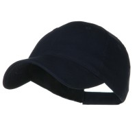 Ball Cap - Navy Youth Brushed Cotton Twill Cap