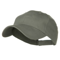 Ball Cap - Grey Youth Brushed Cotton Twill Cap