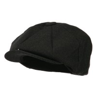 Newsboy - Dark Grey Putty Big Size Washed Cap