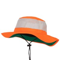 Outdoor - Neon Orange Big Size Safety Boonie Hat