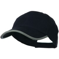 Ball Cap - Navy Reflective Constructed Cap