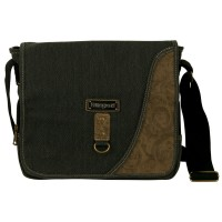 Bag - Black Canvas Messenger Bag