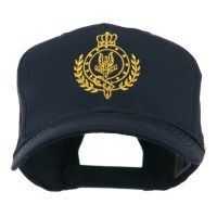 Embroidered Cap - Navy Canadian Badge Embroidery Cap