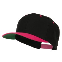 Ball Cap - Black Pink Classic Wool Blend Cap