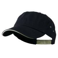 Ball Cap - Navy Khaki Heavy Weight Cotton Cap
